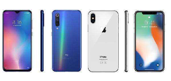 Apple iPhone X против Xiaomi Mi 9
